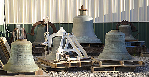 "Bells in ""As Is"" condition"